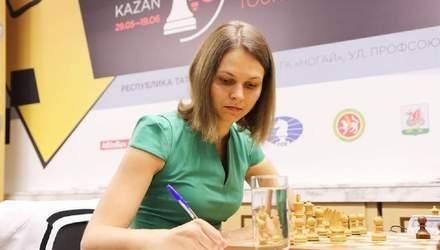 Марія Музичук зіграла другий матч внічию на турнірі в Росії, Анна – програла