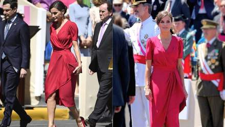 Total look: как стильно носить красную одежду летом на примере королевы Испании