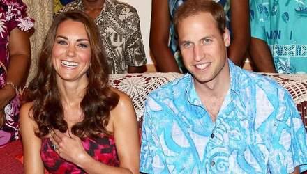 Фотограф королевской семьи опубликовал архивную открытку Кейт Миддлтон и принца Уильяма