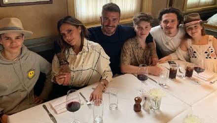 Вікторія Бекхем з сім'єю у повному складі відпочивають у Маямі: фото