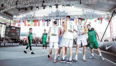 Сборная Украины по баскетболу 3х3 сыграет в четвертьфинале на чемпионате мира