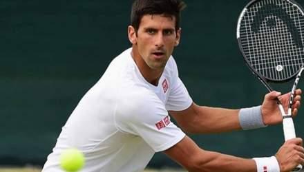 Самый известный теннисист Джокович в девятый раз вышел в полуфинал Roland Garros