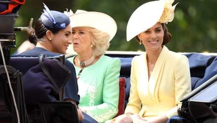 Кейт Миддлтон очаровала публику нарядом лимонного цвета на параде в Лондоне: фото