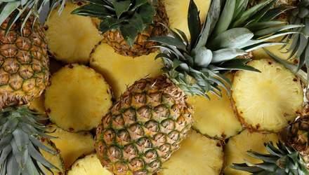 Як вибрати стиглий ананас: відео