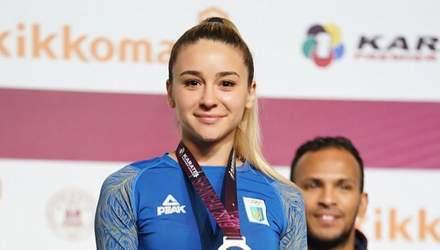 Украинская каратистка показала фото ужасной травмы, с которой она сражалась в финале и победила