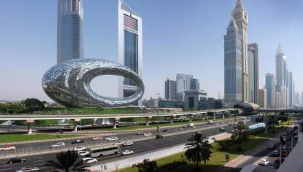 Музей будущего уже сегодня: чем удивит футуристическая постройка в Дубае