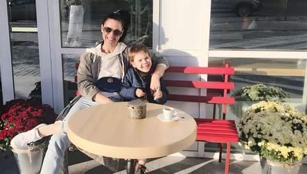 Як займатись фітнесом із сином: відеоурок від Маші Єфросиніної