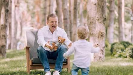 День отца: как украинские звездные отцы воспитывают своих детей