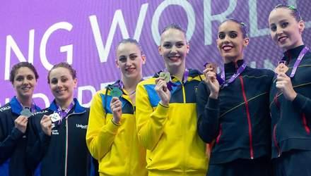 Украинки завоевали золотые медали на Суперфинале Мировой серии FINA по артистическому плаванию