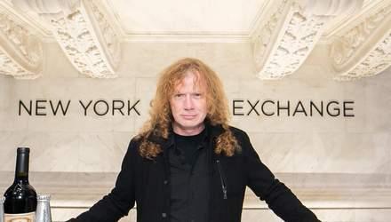 В екс-учасника гурту Metallica Дейва Местейна діагностували рак