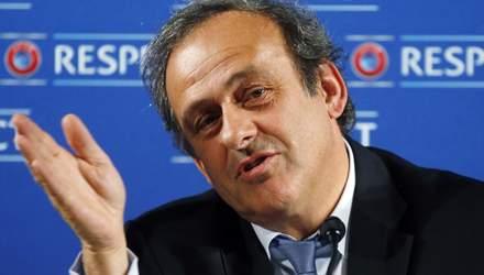 В ФИФА отреагировали на задержание Мишеля Платини