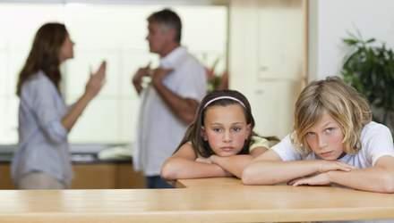 Развод приводит к развитию опасной болезни у детей