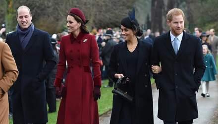 Кейт Миддлтон и принц Уильям отделили принца Гарри и Меган Маркл от своего фонда