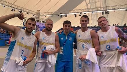 Сборные Украины по баскетболу удачно начали выступления на Европейских играх-2019
