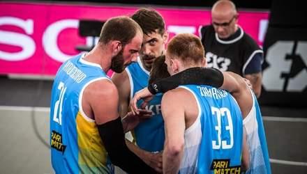 Сборная Украины по баскетболу 3х3 без шансов проиграла Латвии в четвертьфинале чемпионата мира