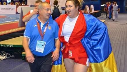Самбистка Сапсай принесла Украине третье золото Европейских игр-2019
