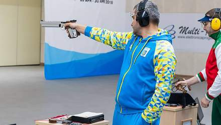 Украинский спортсмен Омельчук выиграл очередную награду на Европейских играх