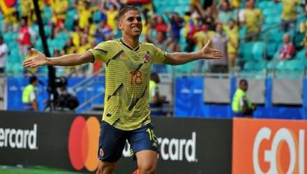 Копа Америка: Колумбия и Аргентина пробились в четвертьфинал (видео)