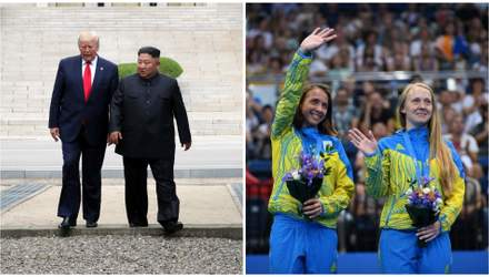 Головні новини 30 червня: Трамп зустрівся з Ким Чен Ином, Україна – третя на Європейських іграх