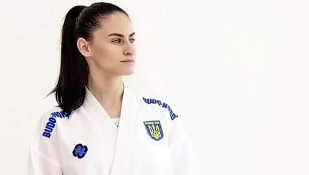 Каратистка Галина Мельник принесла сборной Украины бронзу на Европейских играх 2019 в Минске