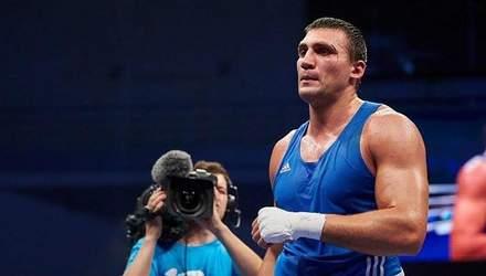 Украинский боксер Виктор Вихрист выиграл золотую медаль на Европейских играх 2019 в Минске