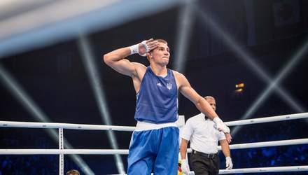 Украинский боксер Хижняк выиграл золото Европейских игр, уничтожив итальянца