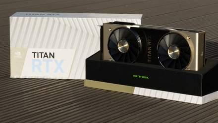Видеокарты NVIDIA Titan RTX установили несколько невероятных рекордов