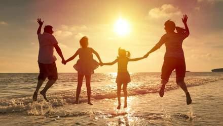 День Родини: привітання у картинках