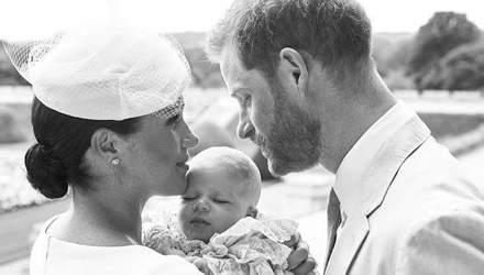 Как принц Гарри и Меган Маркл почтили память принцессы Дианы на крестинах: фотофакт