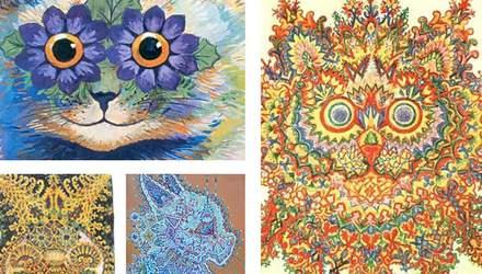 Як змінювались картини художника, у якого прогресувала шизофренія: фотопорівняння