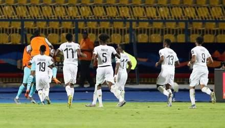 КАН: Заа вывел Кот-д'Ивуар в четвертьфинал, Тунис по пенальти победил Гану (видео)