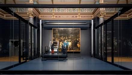 У Амстердамі відновлюють полотно Рембрандта: реставрацію транслюють онлайн