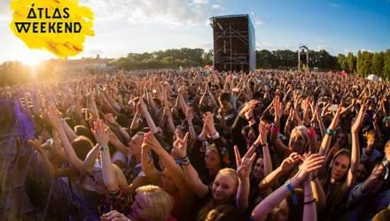 The Chainsmokers, Sinoptik та Курган & Agregat: програма фестивалю Atlas Weekend на 11 липня