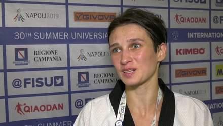 Украина завоевала пятую медаль на Всемирной Универсиаде-2019
