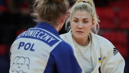 Украинская дзюдоистка Черняк завоевала бронзу гран-при Будапешта