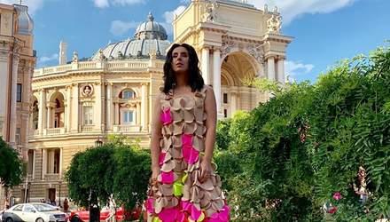 Джамала сменила три роскошных платья на Одесском кинофестивале: фото
