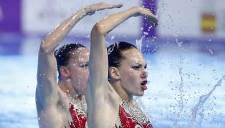 Синхронистки Федина и Савчук принесли Украине первую медаль чемпионата мира: видео