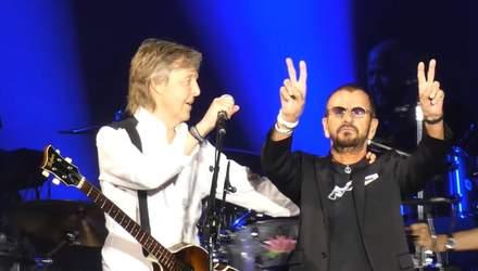 """Ностальгія для """"бітломанів"""": колишні учасники The Beatles разом виступили у США"""