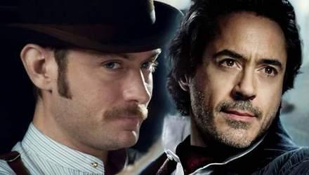 """""""Шерлок Холмс 3"""": у мережі з'явились перші деталі фільму з Робертом Дауні-молодшим і Джудом Лоу"""