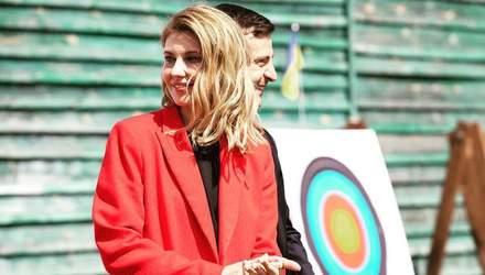 В улюбленому штанному костюмі: Олена Зеленська повторила свій образ
