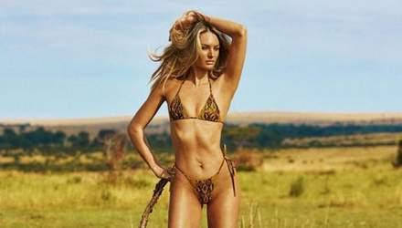 """В сексуальных купальниках: """"ангел"""" Victoria's Secret Кэндис Свейнпол снялась в рекламе"""