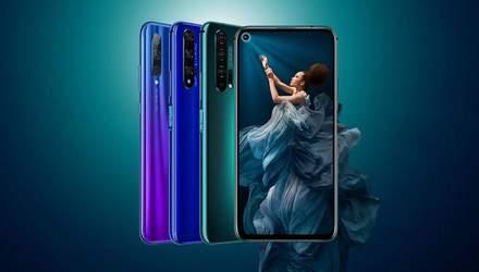 Смартфон Honor 20 офіційно надійшов у продаж в Україні: ціна