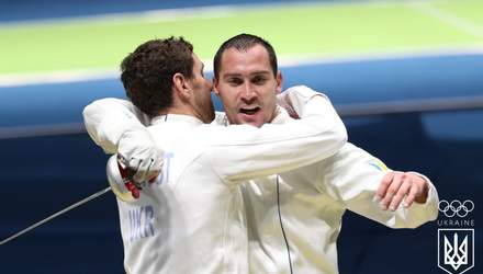 Мужская сборная Украины по фехтованию завоевала серебро чемпионата мира