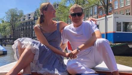 Канікули в Амстердамі: Катя Осадча і Юрій Горбунов відправились у романтичну подорож