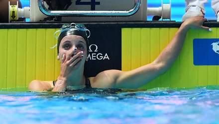 17-летняя американка побила мировой рекорд в плавании