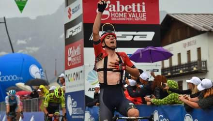Украинский велогонщик Падун одержал громкую победу на престижных соревнованиях в Италии