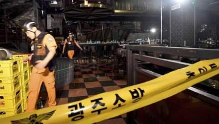 В Южной Корее во время чемпионата мира обрушилась конструкция в ночном клубе: есть погибшие