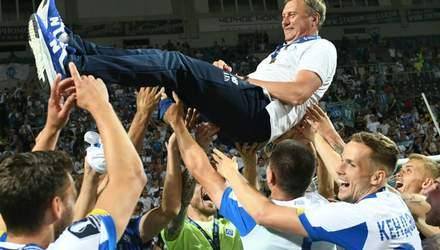 """Самое прекрасное – это счет на табло, ребята выдержали, – Хацкевич о победе """"Динамо"""""""
