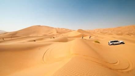 Олешківські піски – друга за величиною пустеля Європи: фантастичні фото