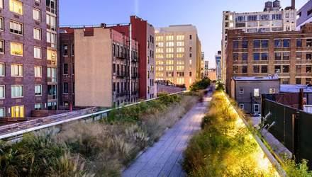 Дивовижний Хай-Лайн парк у Нью-Йорку: вражаючі фото алеї на 10-метровій висоті над землею